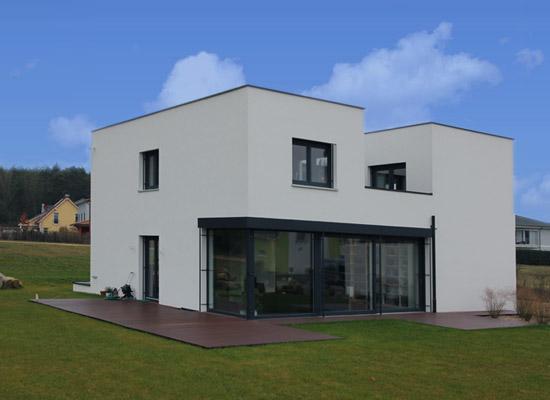 Komplett schl sselfertiges bauen priesendorf bauhaus - Bauhaus architektur merkmale ...